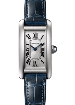 Cartier Tank Americaine Stainless Steel 34.8Mm Case