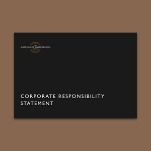 CORPORATE RESPONSIBILITY STATEMENT 600X600